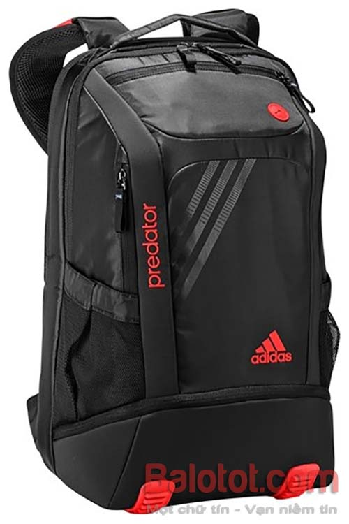 Predator-Backpack- Red-2