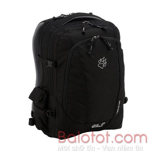 Ba lô laptop jack wolfskin j-pack deluxe màu đen mã BJ158