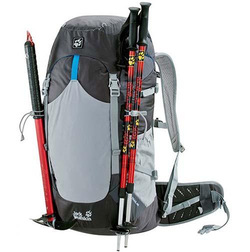 Balo du lịch Jack Wolfskin Alpine Trail 40 màu đen mã BJ146