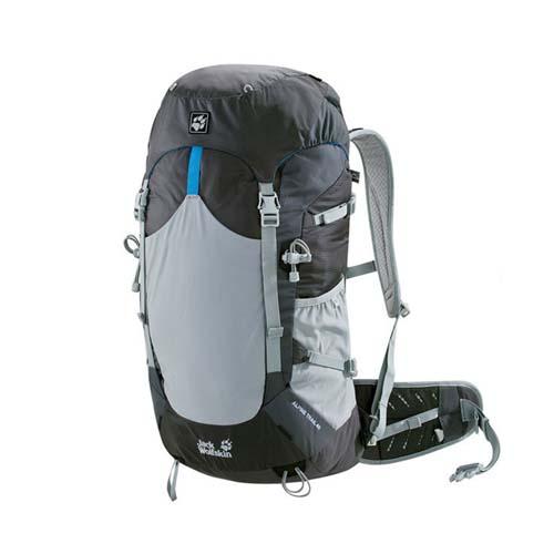 Balo thể thao leo núi Jack Wolfskin Alpine Trail 40 màu ghi mã BJ148