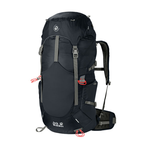Balo leo núi Jack Wolfskin Alpine Trail 36 màu đen mã Bj186
