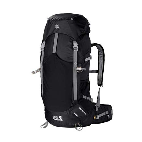 Balo du lịch Jack Wolfskin Alpine Trail 40 màu đen mã BJ177 2