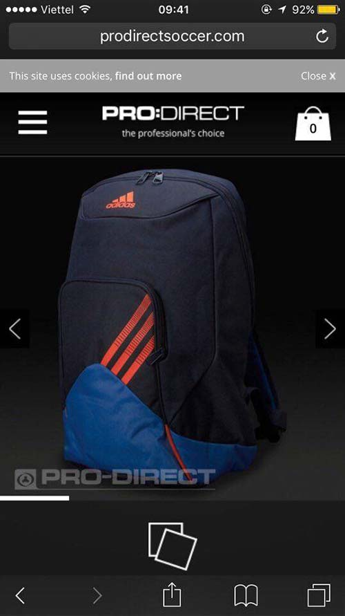 Balo adidas predator backpack