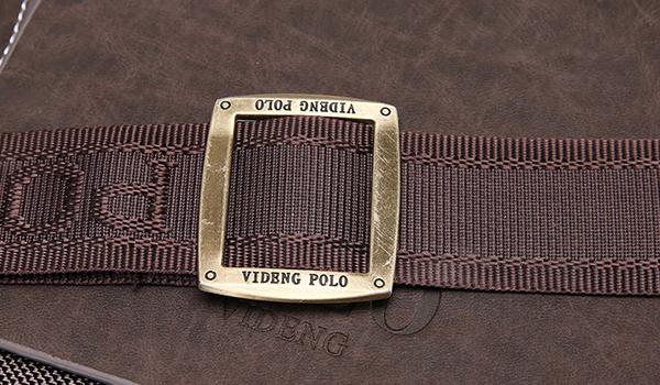 TÚI Đựng ipad POLO vải dù phối da mã TP04 18