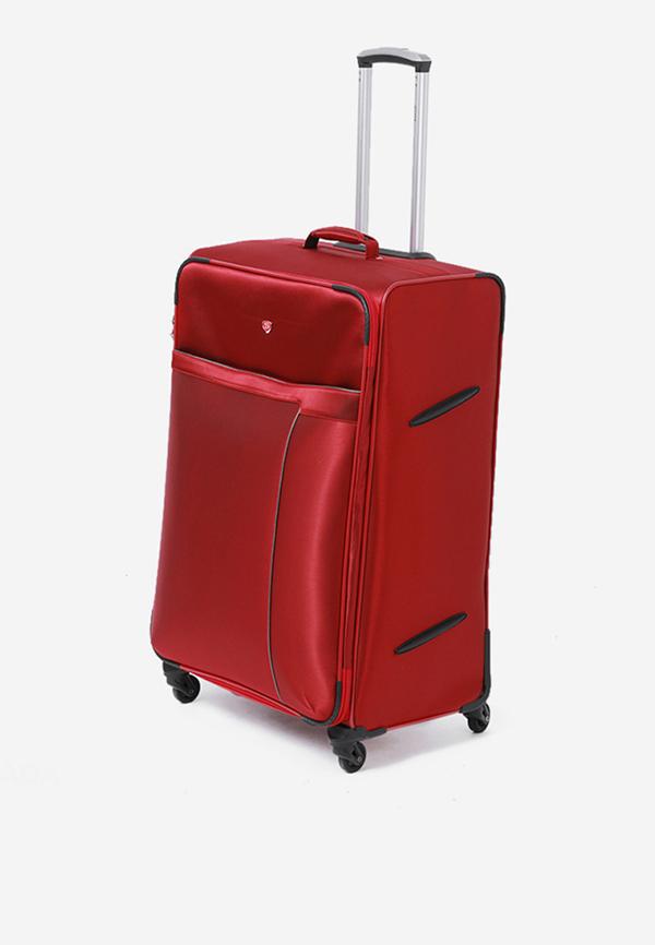 Vali kéo SAKOS PLATINUM 7 màu đỏ mã VK476 7