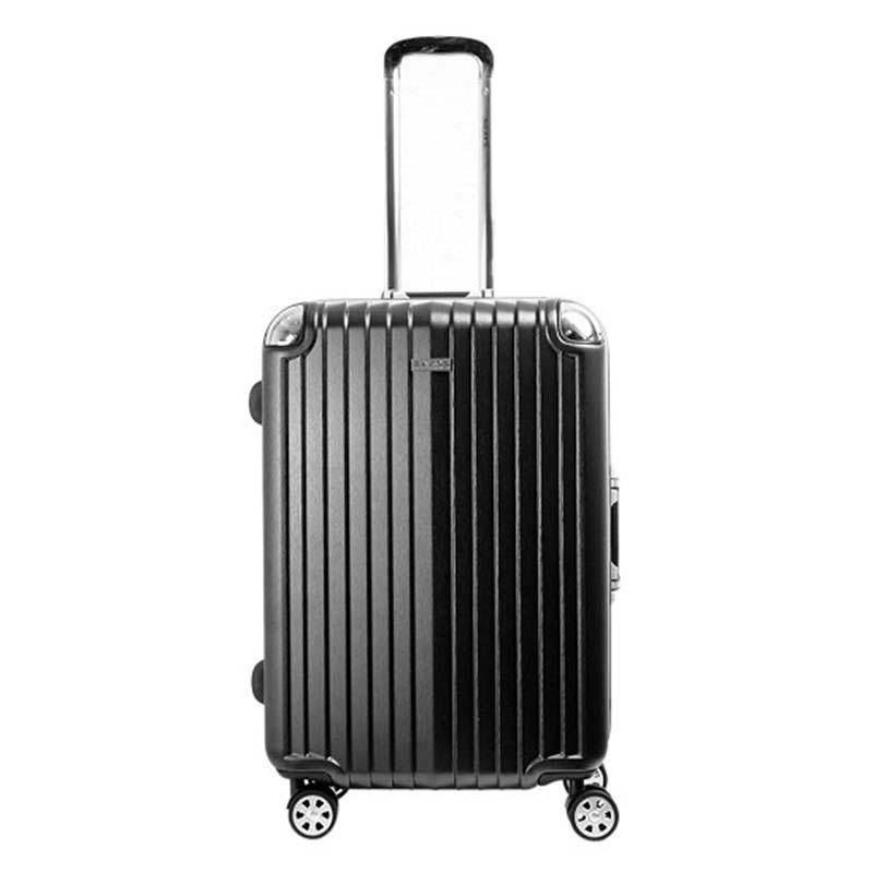 Vali kéo Sakos Nhựa Khung Nhôm SAPPHIRE A26 màu đen mã VK490 7
