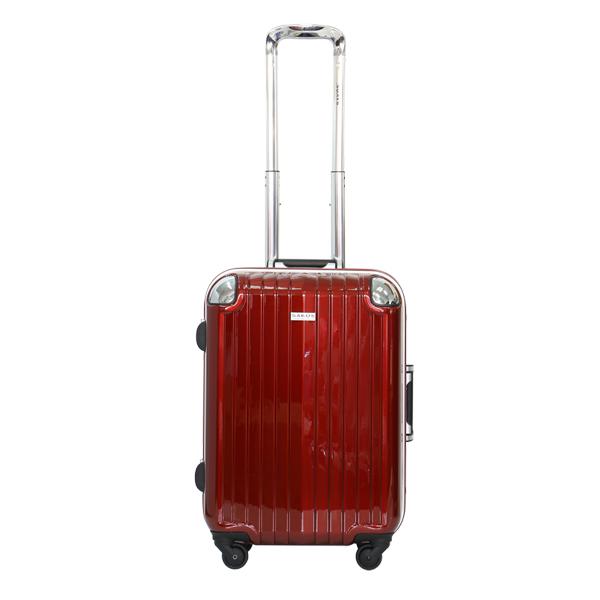 Vali kéo Sakos Nhựa Khung Nhôm SAPPHIRE A22 màu đỏ mã VK492