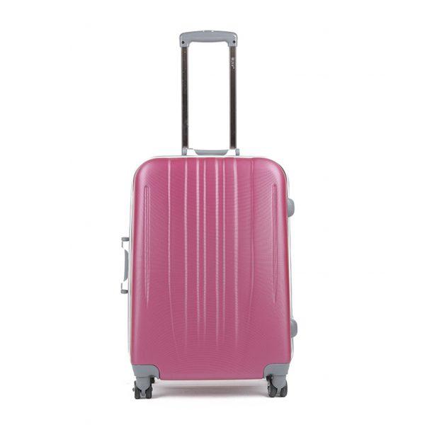 Vali kéo thời Jly màu hồng size 28 Mã VLK499 1
