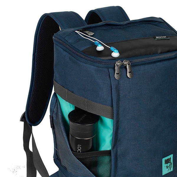Balo laptop Mikkor The Irvin Backpack mã BM538 13