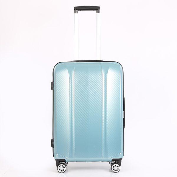Vali SAKOS Khung nhựa Enteral Z26 màu xanh Mã VS543 1