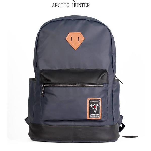 Balo đi học ARCTIC HUNTER nắp da mã BAH572