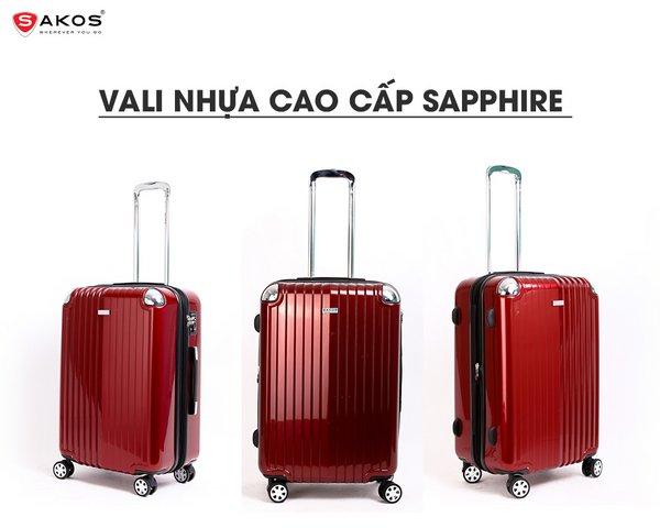 Sakos Sapphire-z22 màu Đỏ