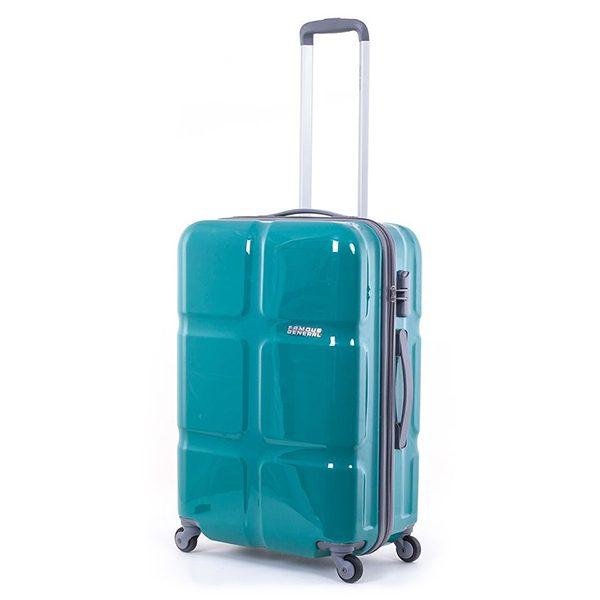 Vali Kéo Famous General 8188B màu xanh ngọc size 24 mã VF603 1