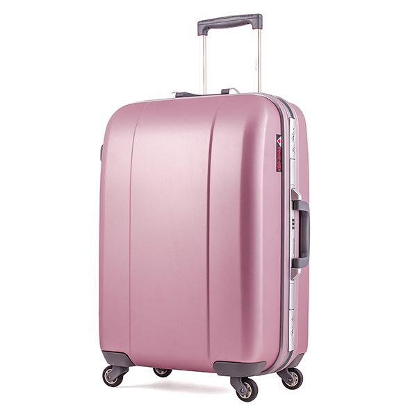 Vali kéo du lịch Prince 7284 size 25 màu hồng mã VP601 1