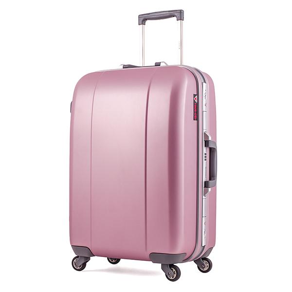 Vali kéo du lịch Prince 7284 size 25 màu hồng mã VP601 2