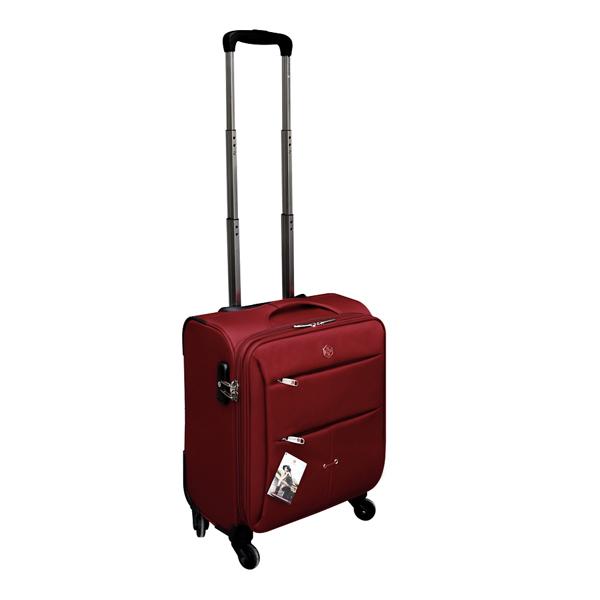 Vali kéo Brothers BR-1328 size 17 màu đỏ mã VB712
