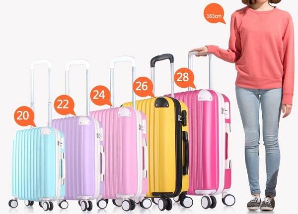 Kinh nghiệm chọn mua vali kéo cỡ lớn nhất loại 40kg, Vali kéo đại 1
