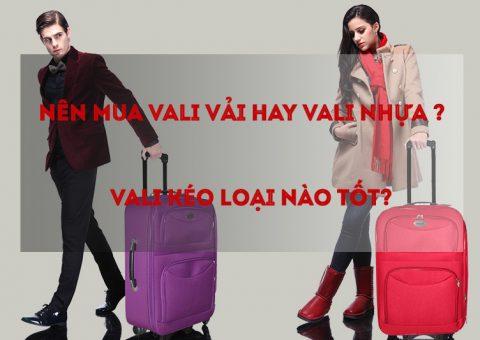 Nên mua vali vải hay vali nhựa, vali kéo loại nào tốt? 81