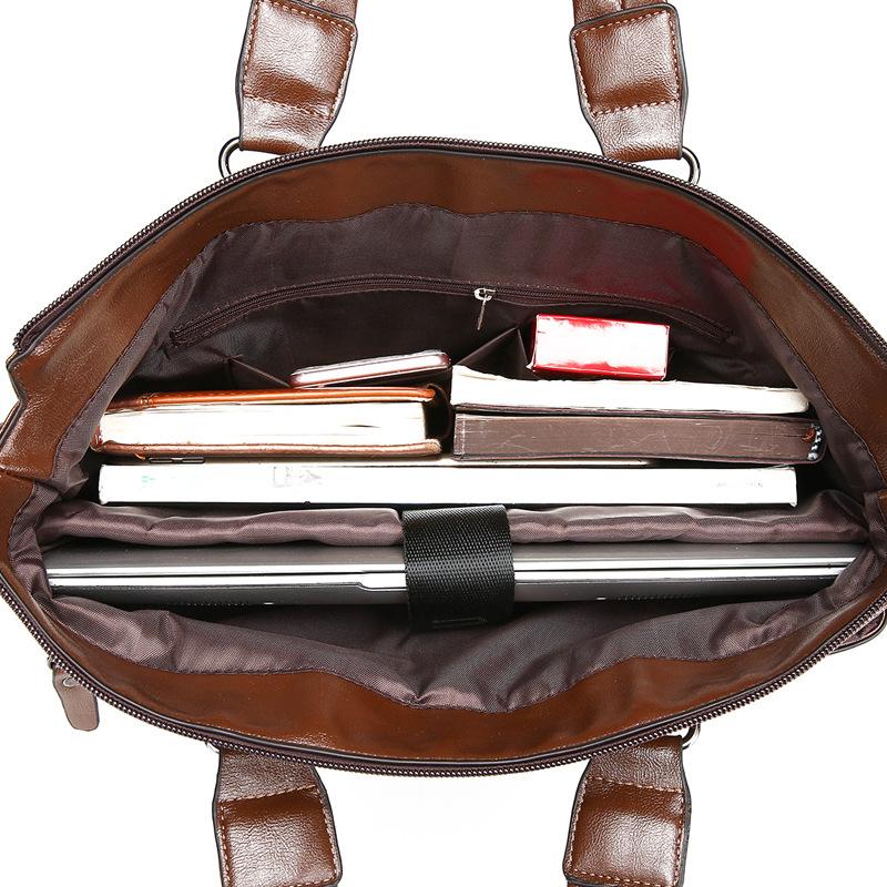 Cặp đeo chéo đựng laptop da cao cấp