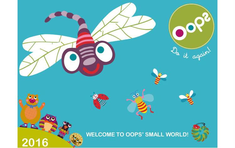 Túi Xách Du Lịch 3D Cho Bé OOPS