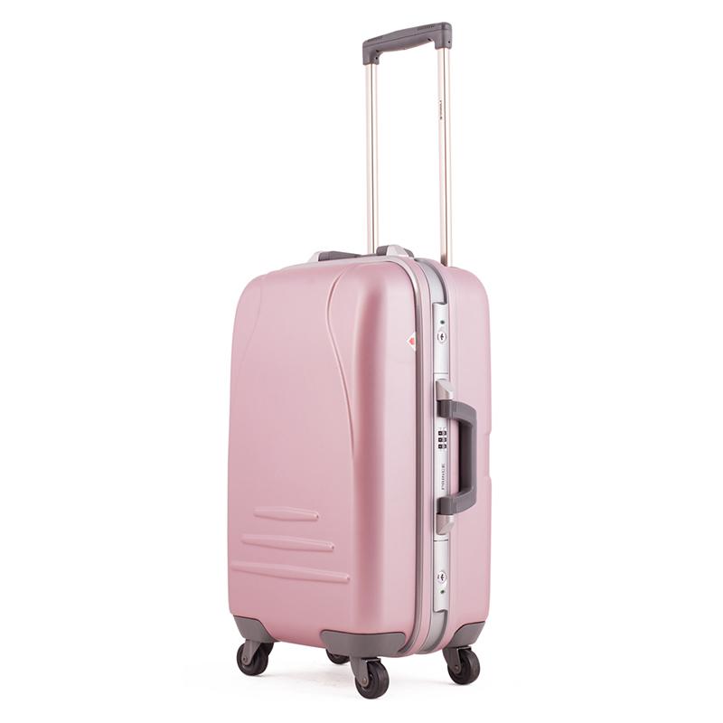 Vali kéo Prince 4515 size 20 màu hồng