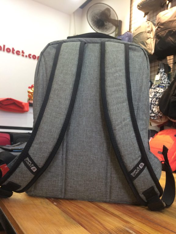 Balo laptop SimpleCarry Issac 5 - Trượt nước, chống thấm siêu tiện dụng 9