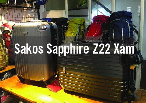 Vali kéo Sakos Sapphire Z22 Xám - Thương hiệu tạo nên đẳng cấp 36