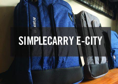 Balo SimpleCarry Ecity bảo vệ laptop hoàn hảo 9