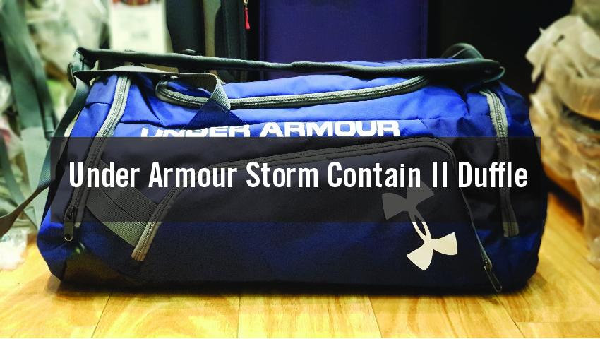 Balo Túi Under Armour Storm Contain II Duffle mang đến sự trẻ trung, năng động 1