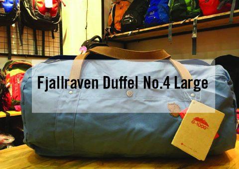 Túi du lịch Fjallraven Duffel No.4 Large  - Thỏa ga chứa đồ 49