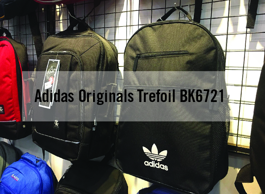 Balo thời trang Adidas Originals Trefoil BK6721 đơn giản, nhẹ nhàng 1