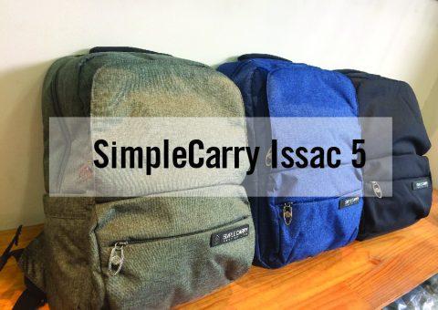 Balo laptop SimpleCarry Issac 5 - Trượt nước, chống thấm siêu tiện dụng 21