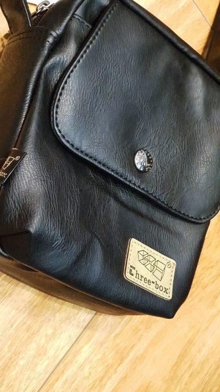 Túi đeo chéo da Three box 13 item hot hit nhà balotot.com 3