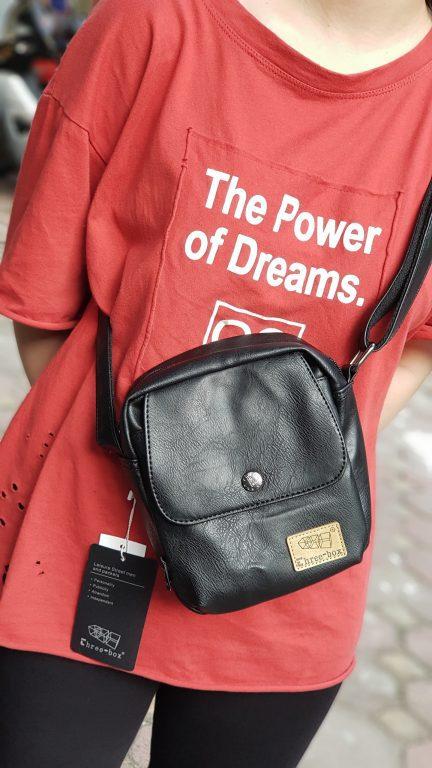 Túi đeo chéo da Three box 13 item hot hit nhà balotot.com 1