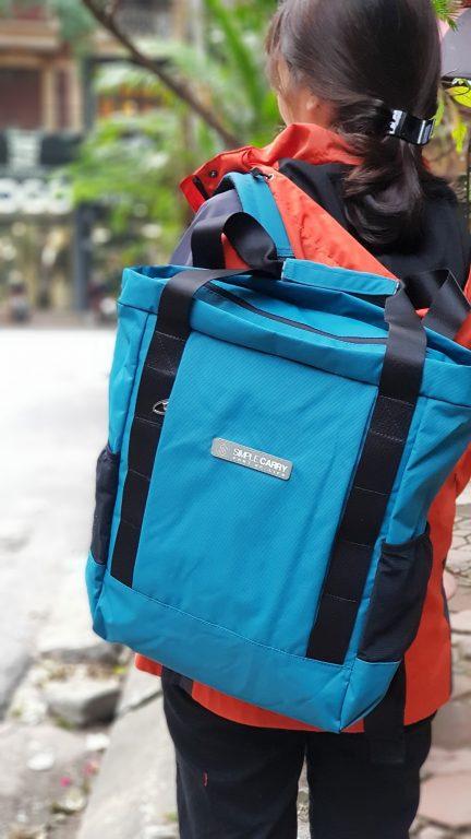 Siêu chất với balo túi du lịch Simple Carry Kantan 3 3