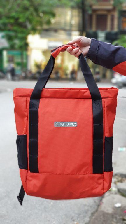 Siêu chất với balo túi du lịch Simple Carry Kantan 3 1