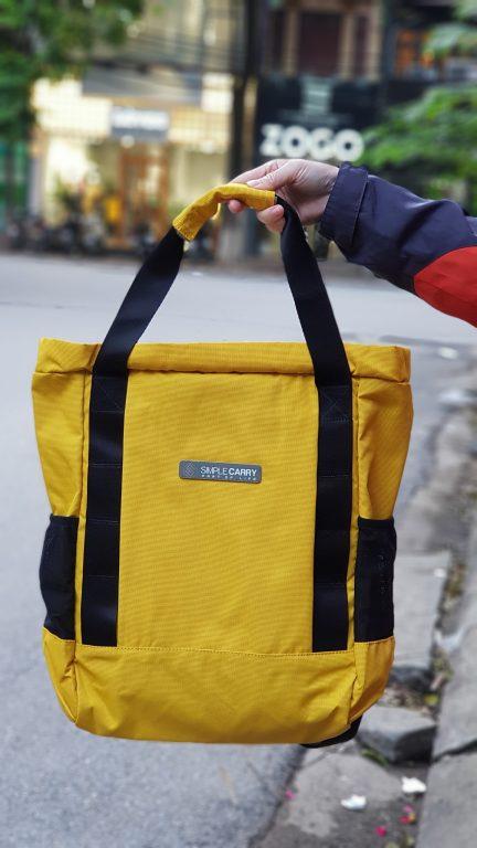 Siêu chất với balo túi du lịch Simple Carry Kantan 3 5