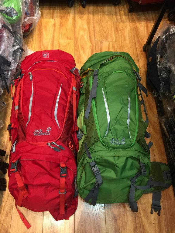 Review mẫu balo du lịch hot hit đầu năm 2019 - Jack Wolfskin Highland Trail Xt 50 5