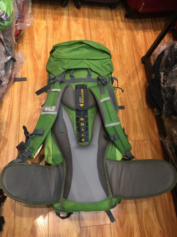 Review mẫu balo du lịch hot hit đầu năm 2019 - Jack Wolfskin Highland Trail Xt 50 7