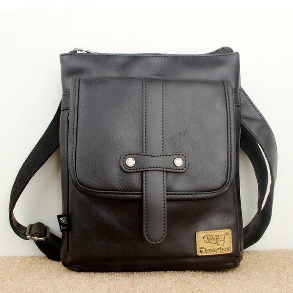 Túi đeo chéo da three-box 18 mã TD847 1