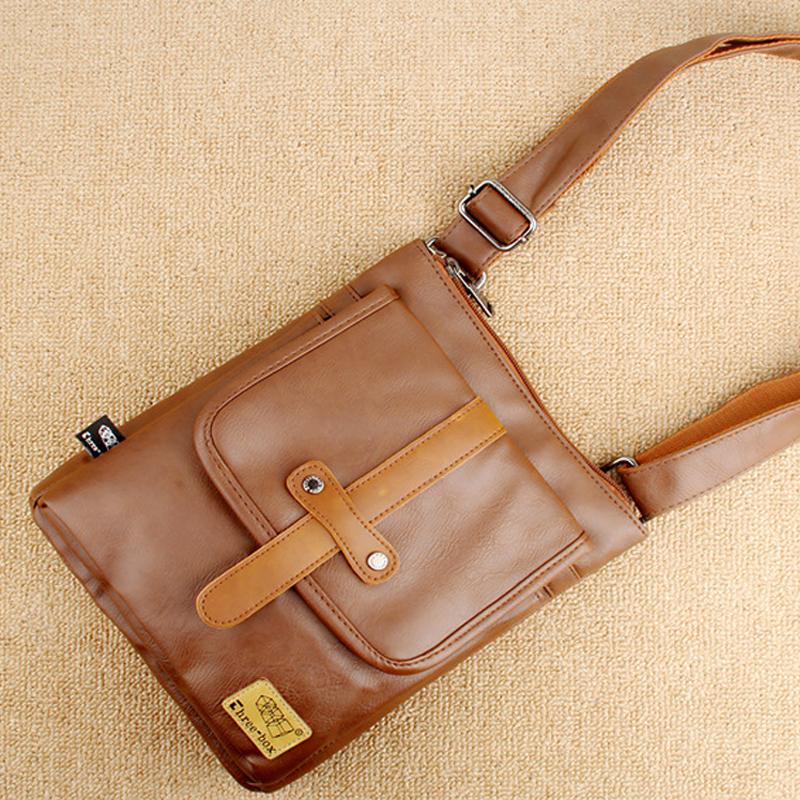 Túi đeo chéo da three-box 18 mã TD847 16