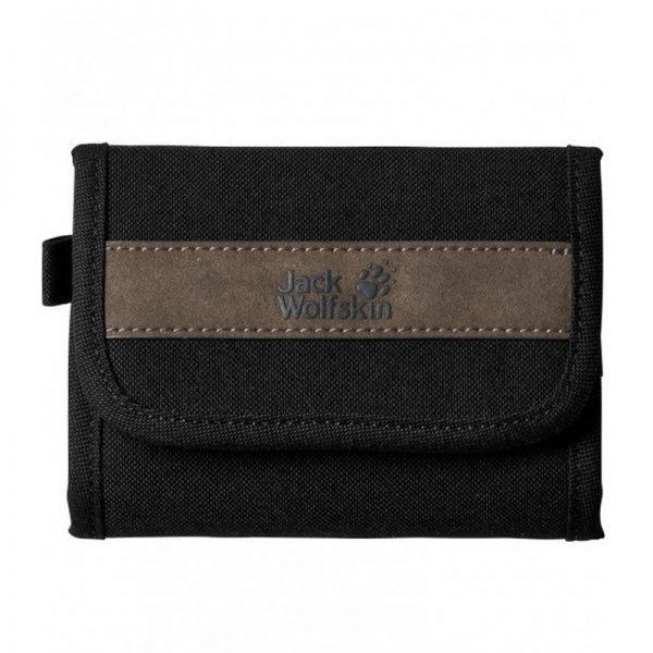 Ví Jack Wolfskin Embankment Wallet Black Mã VJ857 1