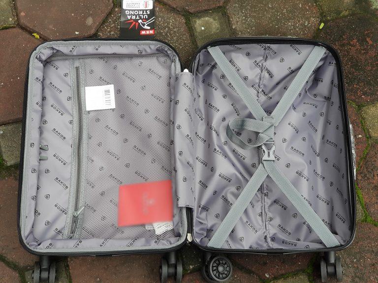 Bạn biết gì về mẫu vali Sakos Racer z22 xịn sò nhà Balotot.com 3