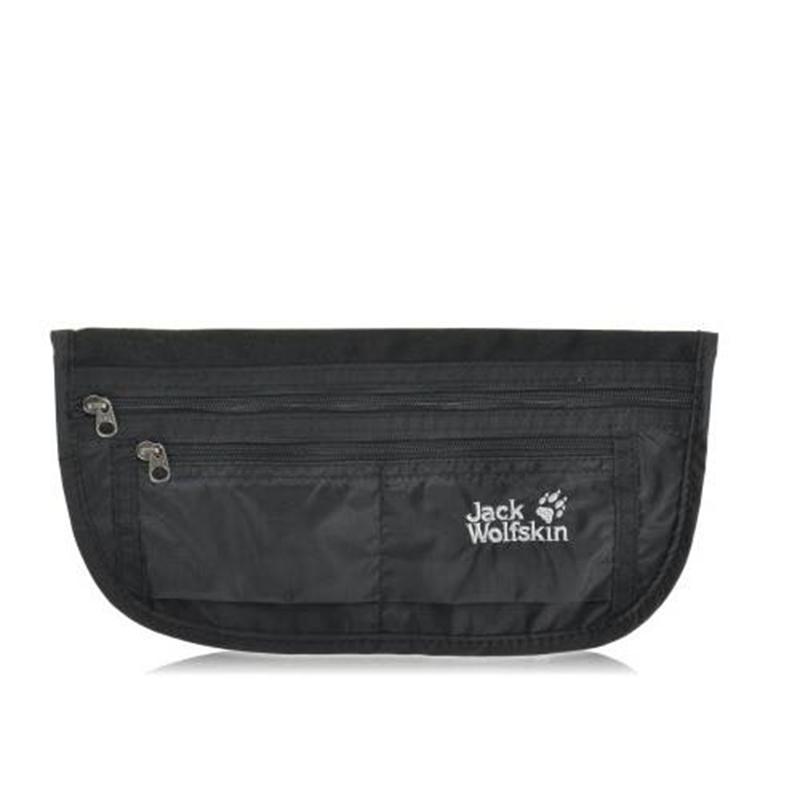 Túi bao tử Jack Wolfskin Document Belt De Luxe Black Mã TJ919 14
