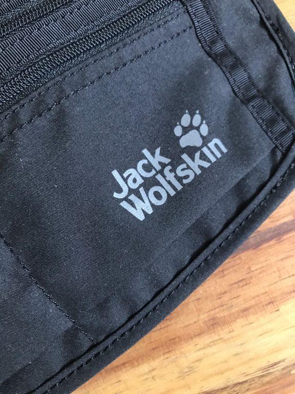 Túi bao tử Jack Wolfskin Document Belt De Luxe Black - Nhỏ nhưng có võ 2
