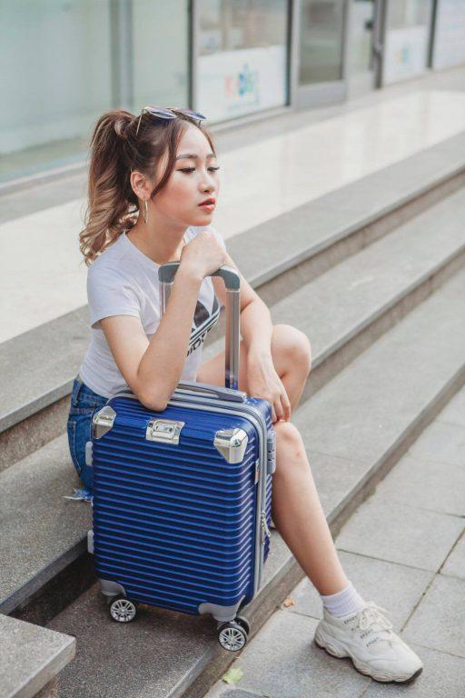 Du lịch cá nhân không thể thiếu vali kéo Hùng Phát VHP883 cỡ nhỏ 4