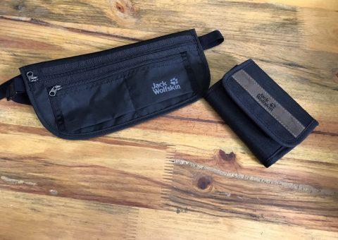 Túi bao tử Jack Wolfskin Document Belt De Luxe Black - Nhỏ nhưng có võ 46