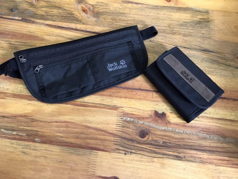 Túi bao tử Jack Wolfskin Document Belt De Luxe Black - Nhỏ nhưng có võ 1