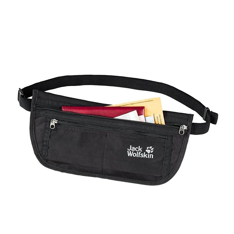 Túi bao tử Jack Wolfskin Document Belt De Luxe Black - Nhỏ nhưng có võ 3