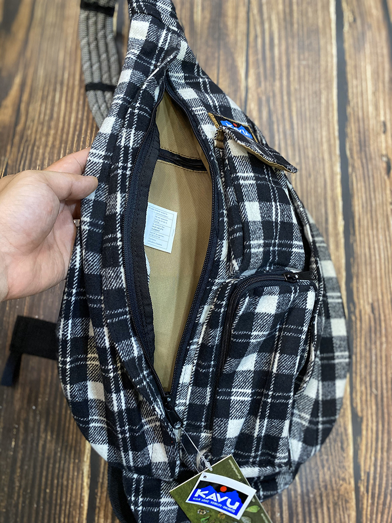 Balo Kavu Plaid Rope Bag Mã BK931 15
